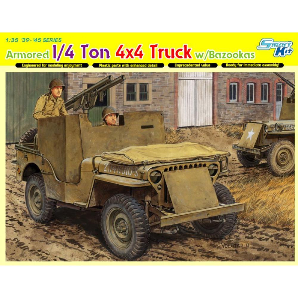 Американський бронеавтомобіль Willys MB  1/35 Dragon Models 6748