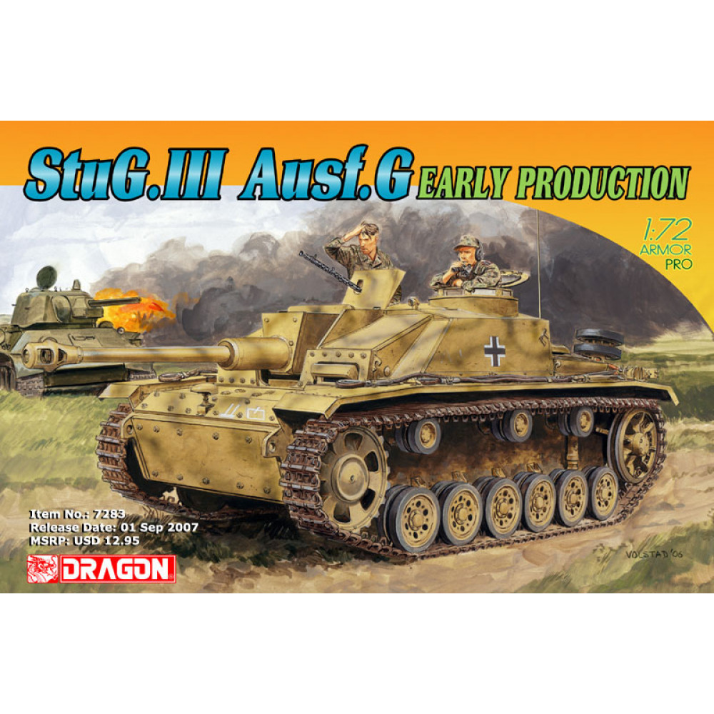 StuG. III Ausf. G Early Production 1/72 Dragon Models 7283