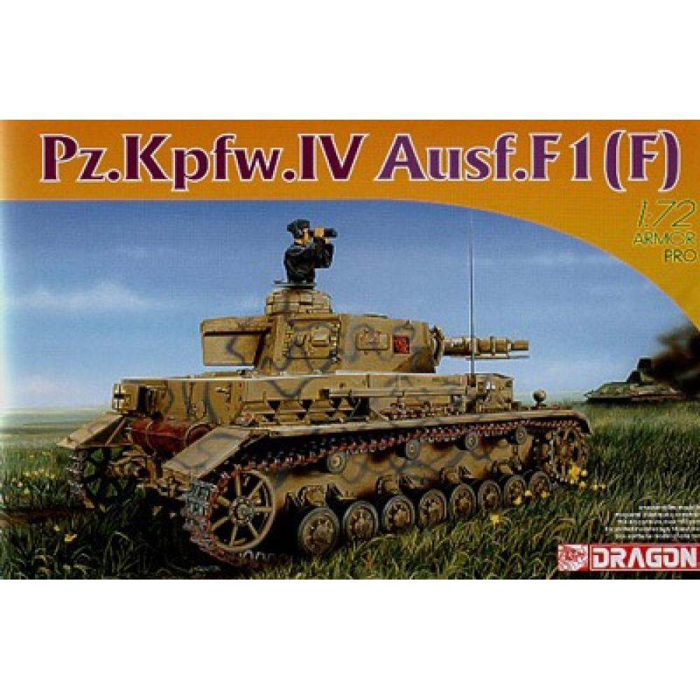 Pz.Kpfw. IV Ausf. F1 (F) 1/72 Dragon Models 7321
