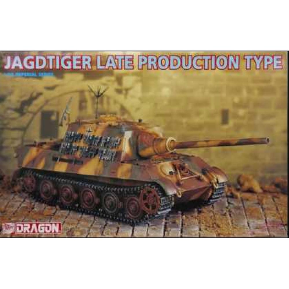 Jagdtiger Late Production Type 1/35 Dragon Models 9036