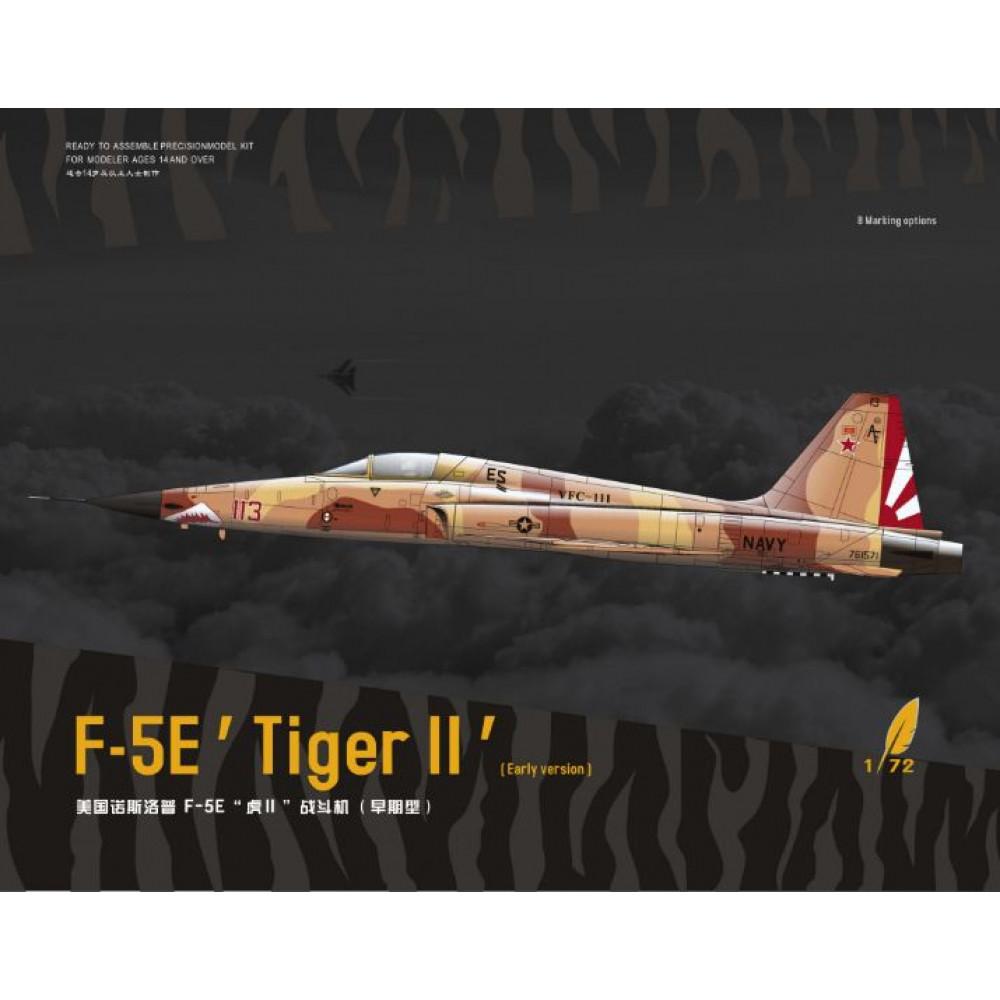 American fighter F-5E Tiger II early type 1/72 Dream Model 720013