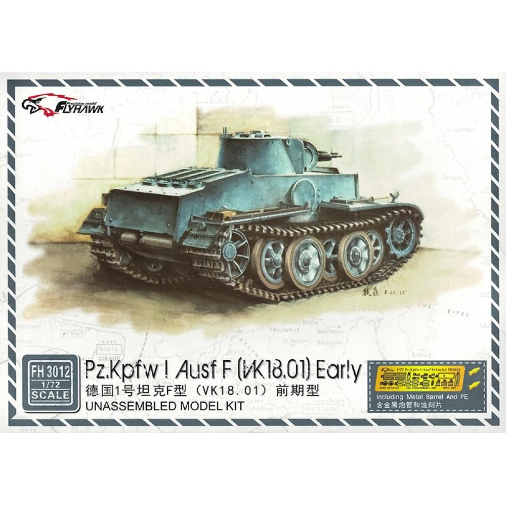 Танк раннего производства Pz. Kpfw. I Ausf. F 1/72 FlyHawk FH3012