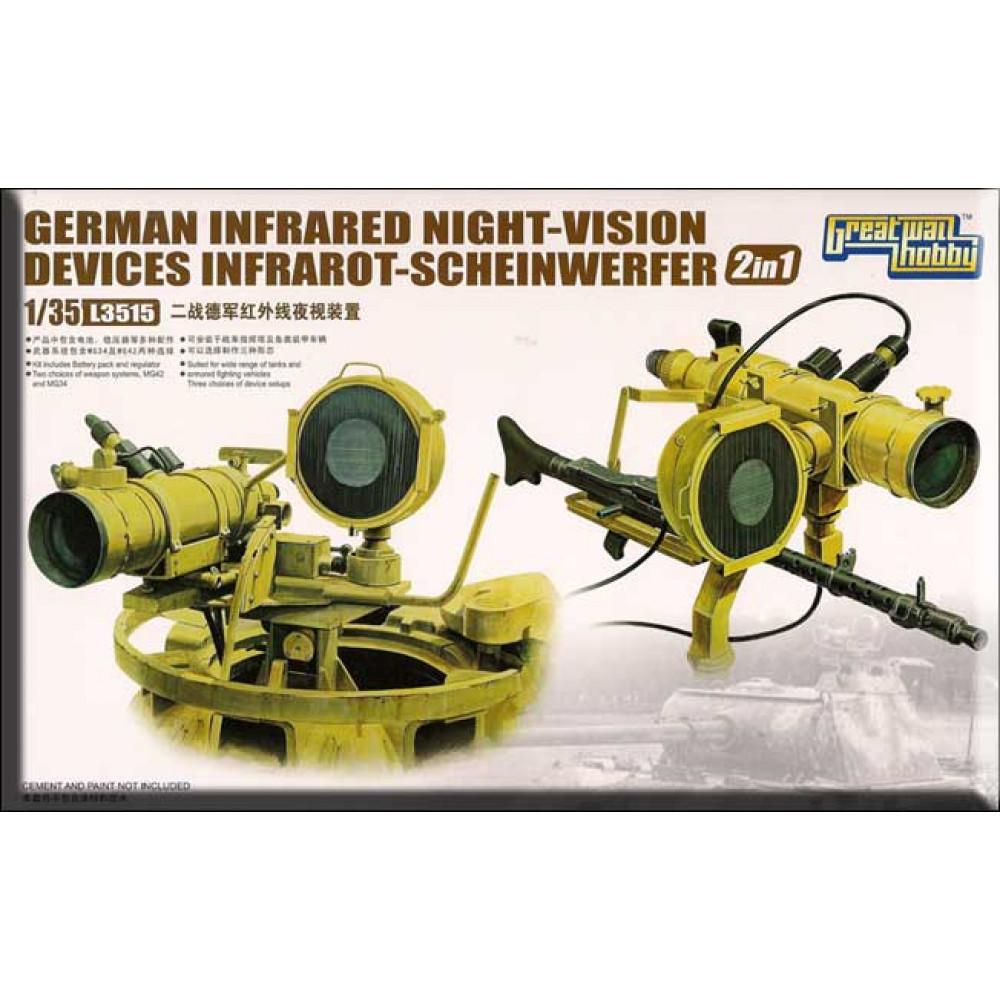 Модель Немецкого инфракрасного прибора ночного видения WWII   1/35 Great Wall Hobby GWH L3515