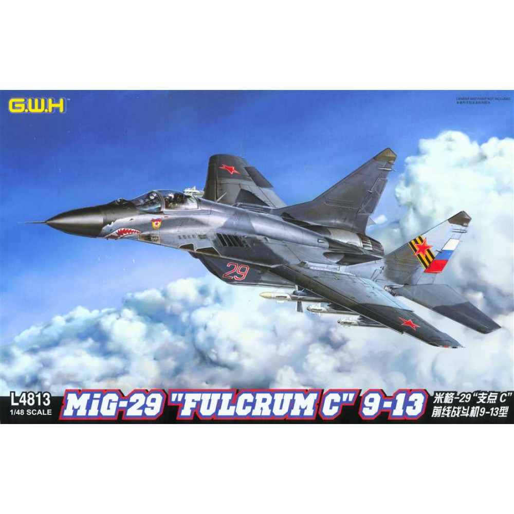 "Сборная модель МиГ-29 тип ""9-13"" ""Fulcrum"" 1/48 Great Wall Hobby GWH L4813"