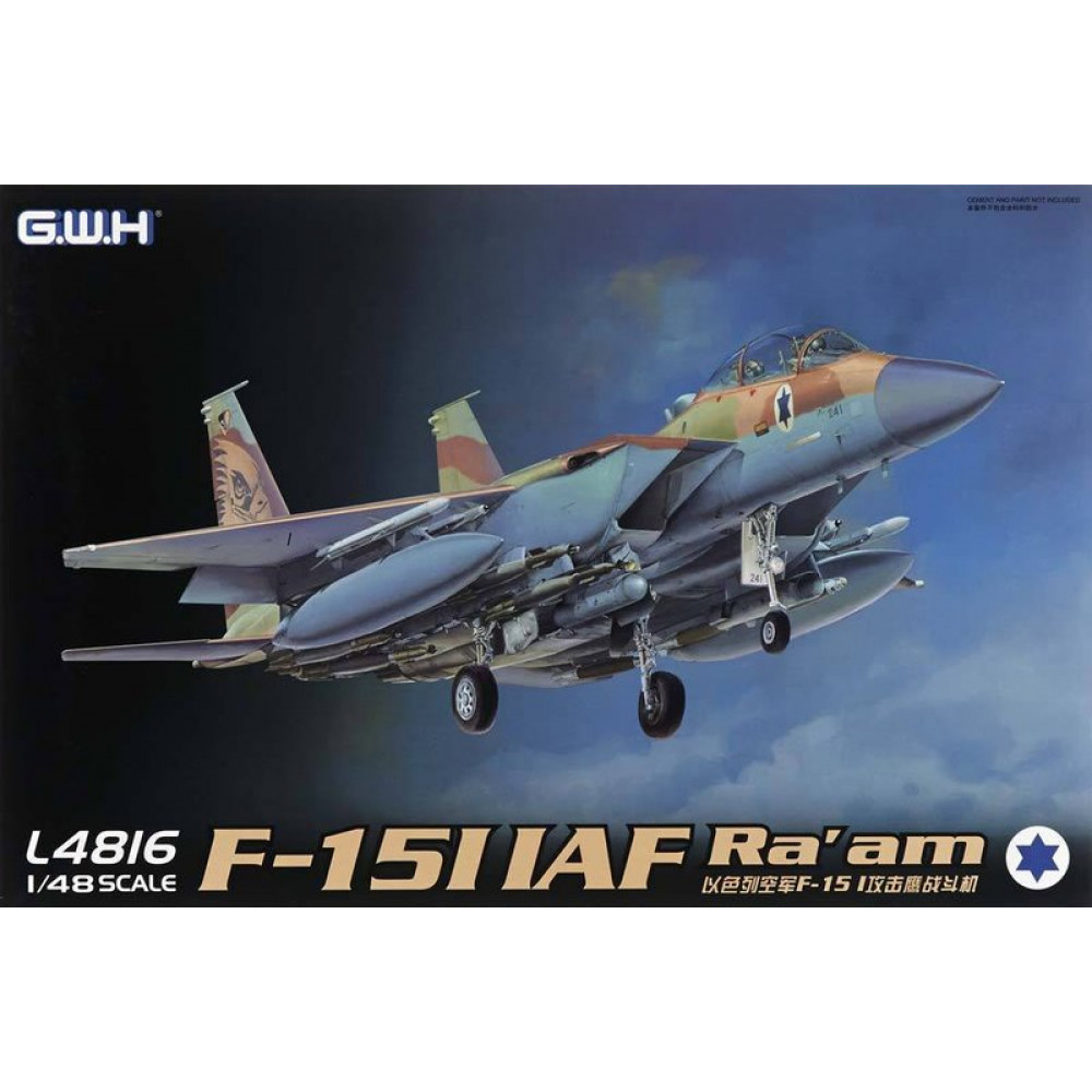 McDonnell F-15I Ra'am, Israel Air 1/48 Great Wall Hobby GWH L4816