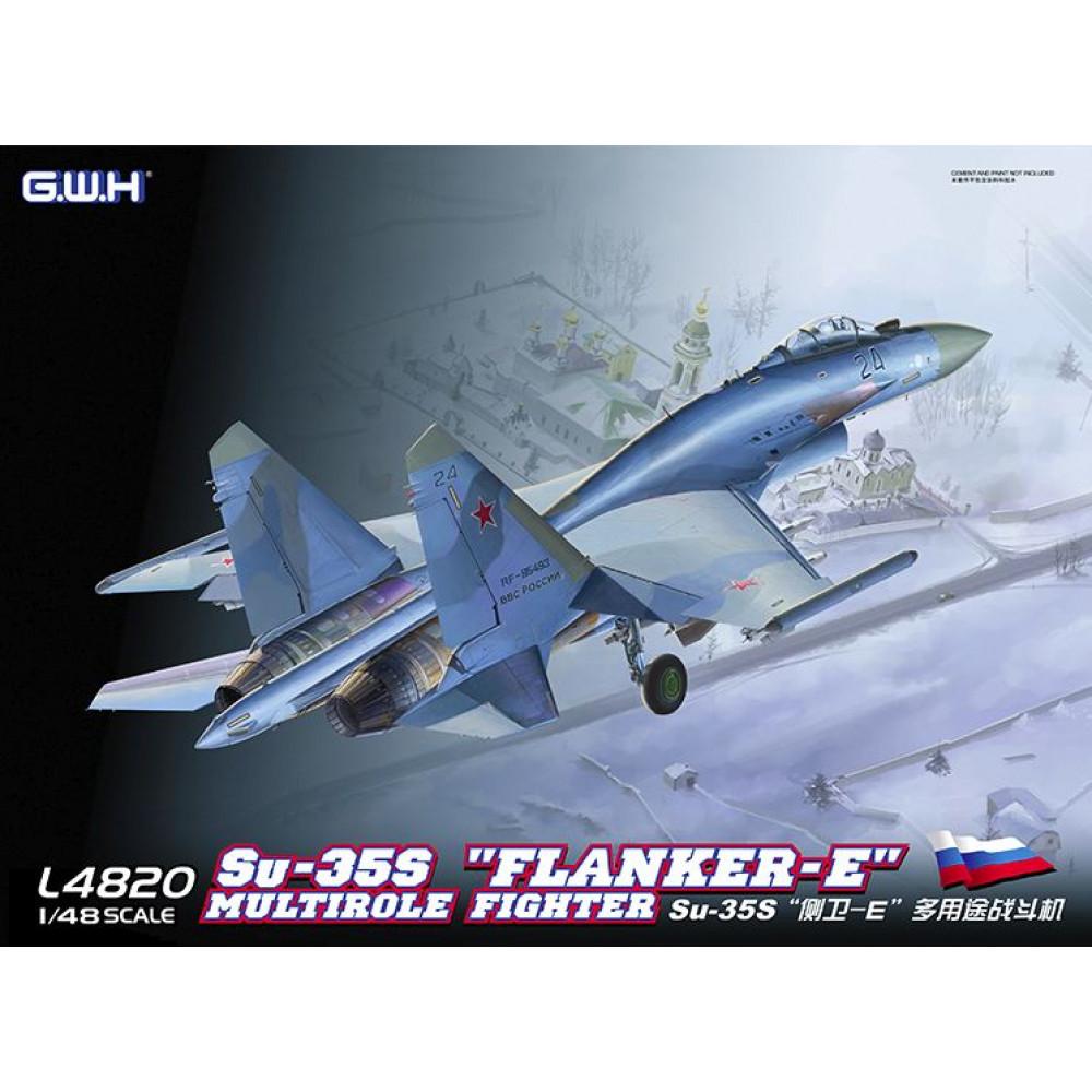Российский истребитель Су-35С 1/48 Great Wall Hobby GWH L4820