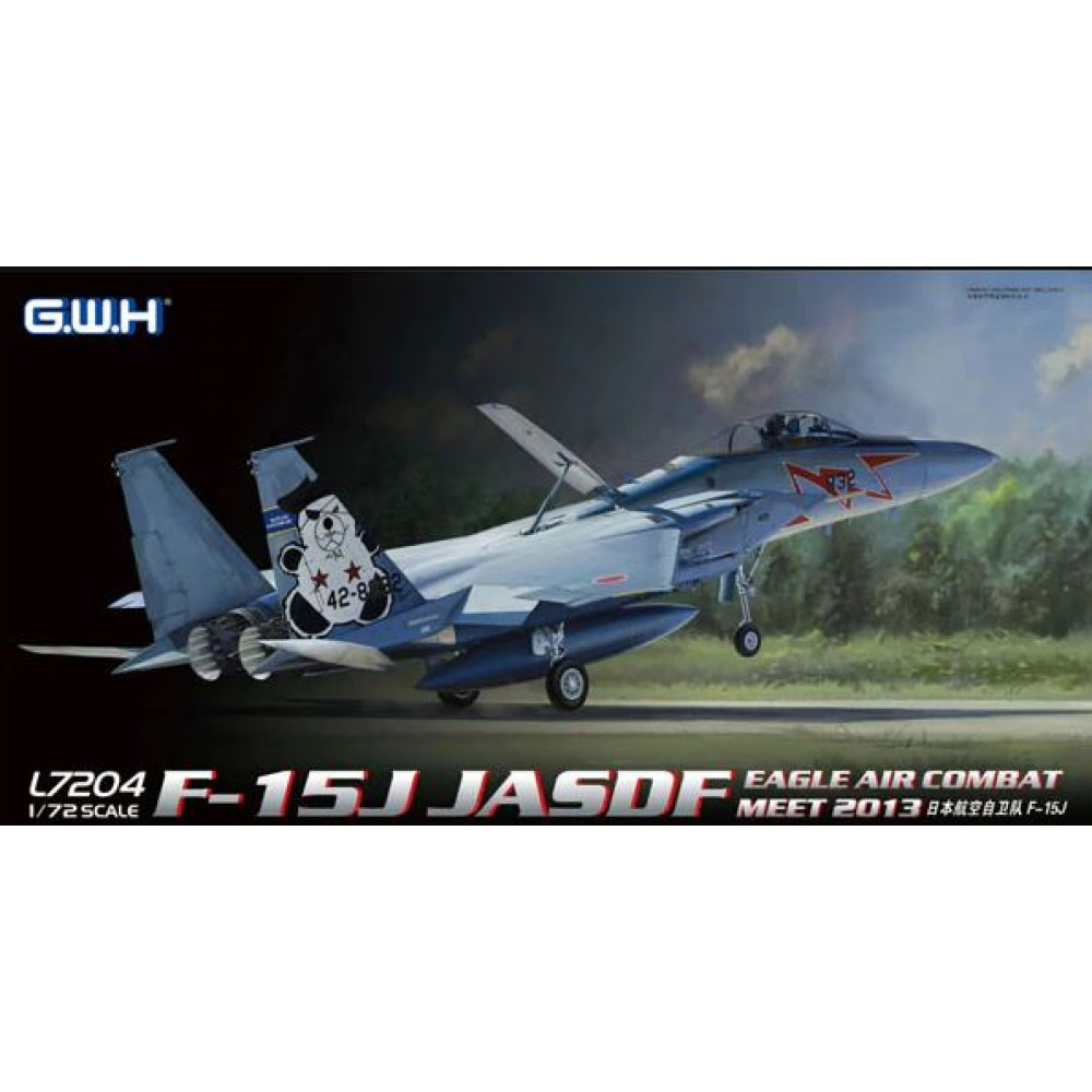 F-15J Eagle JASDF 1/72 Great Wall Hobby GWH L7204