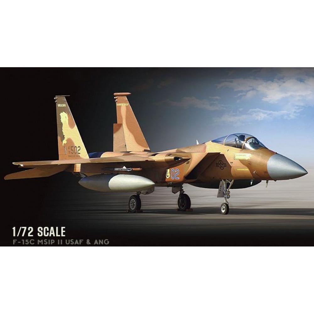 Истребитель McDonnell F-15C MSIP II USAF & ANG 1/72 Great Wall Hobby GWH 7205