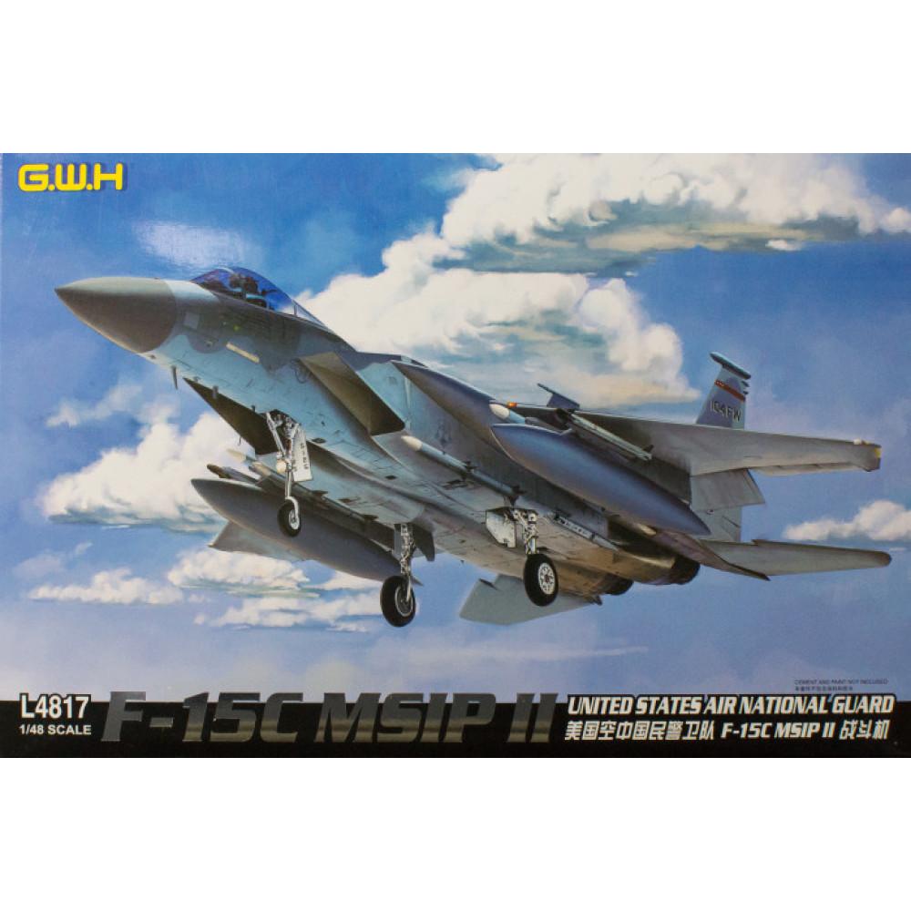 Истребитель F-15C MSIP II  1/48 Great Wall Hobby GWH L4817