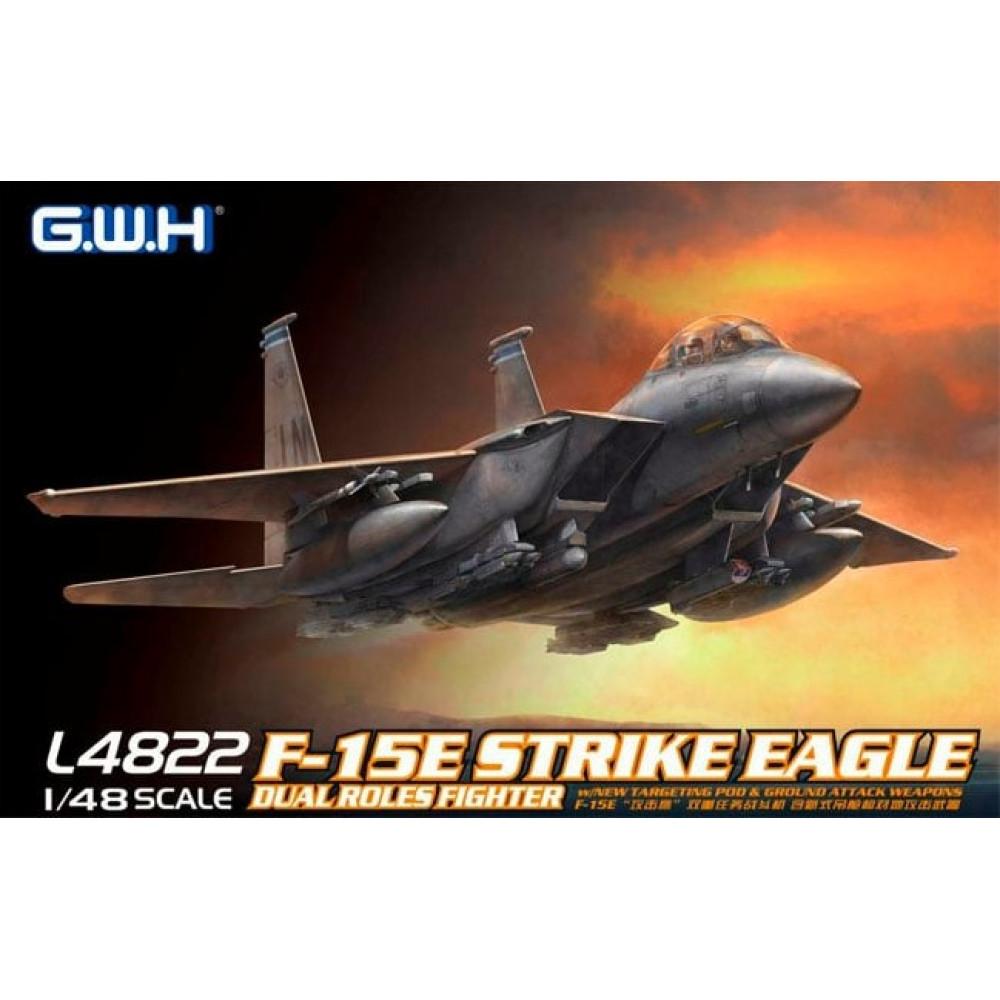 F-15E Strike Eagle американский истребитель 1/48 Great Wall Hobby GWH L4822