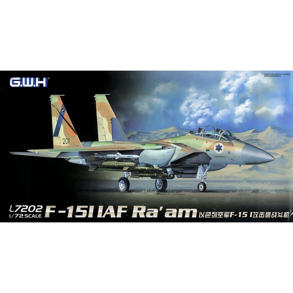 Израильский истребитель F-15I IAF Ra'am 1/72 Great Wall Hobby GWH L7202