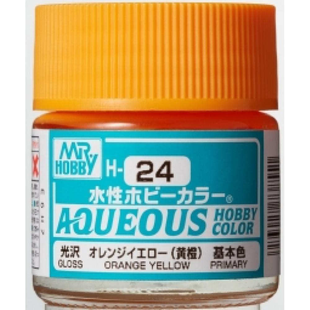 H024 Mr.Hobby - Orange yellow (Acryl) 10 ml