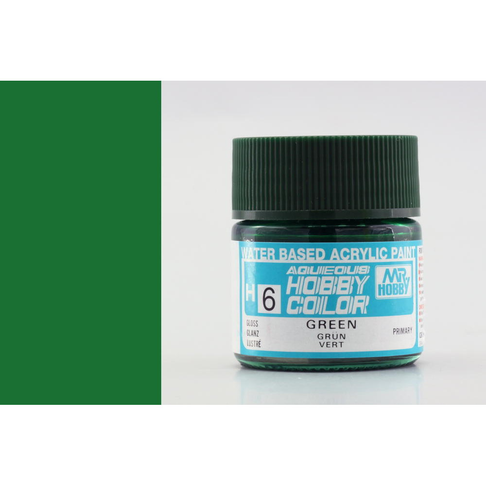H006 Mr.Hobby - Green (Acryl) 10 ml