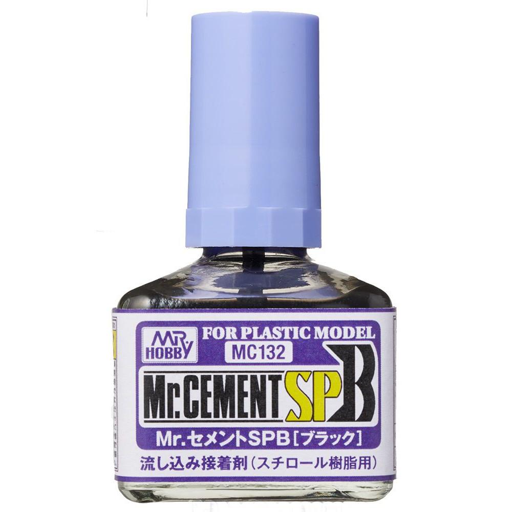 Mr.Cement SP Black 40 ml - GunzeSangyo MC132