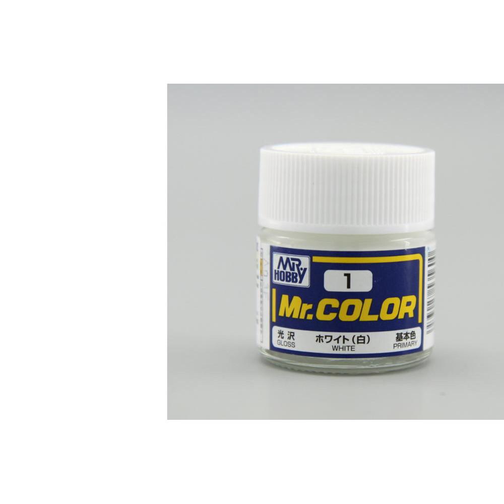 C001 Mr.Color - White (Gloss) 10 ml