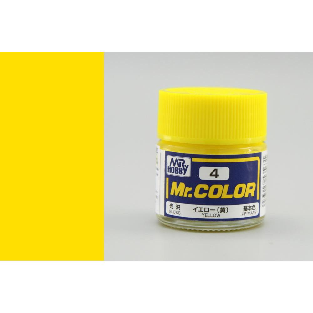 C004 Mr.Color - Yellow (Gloss) 10 ml