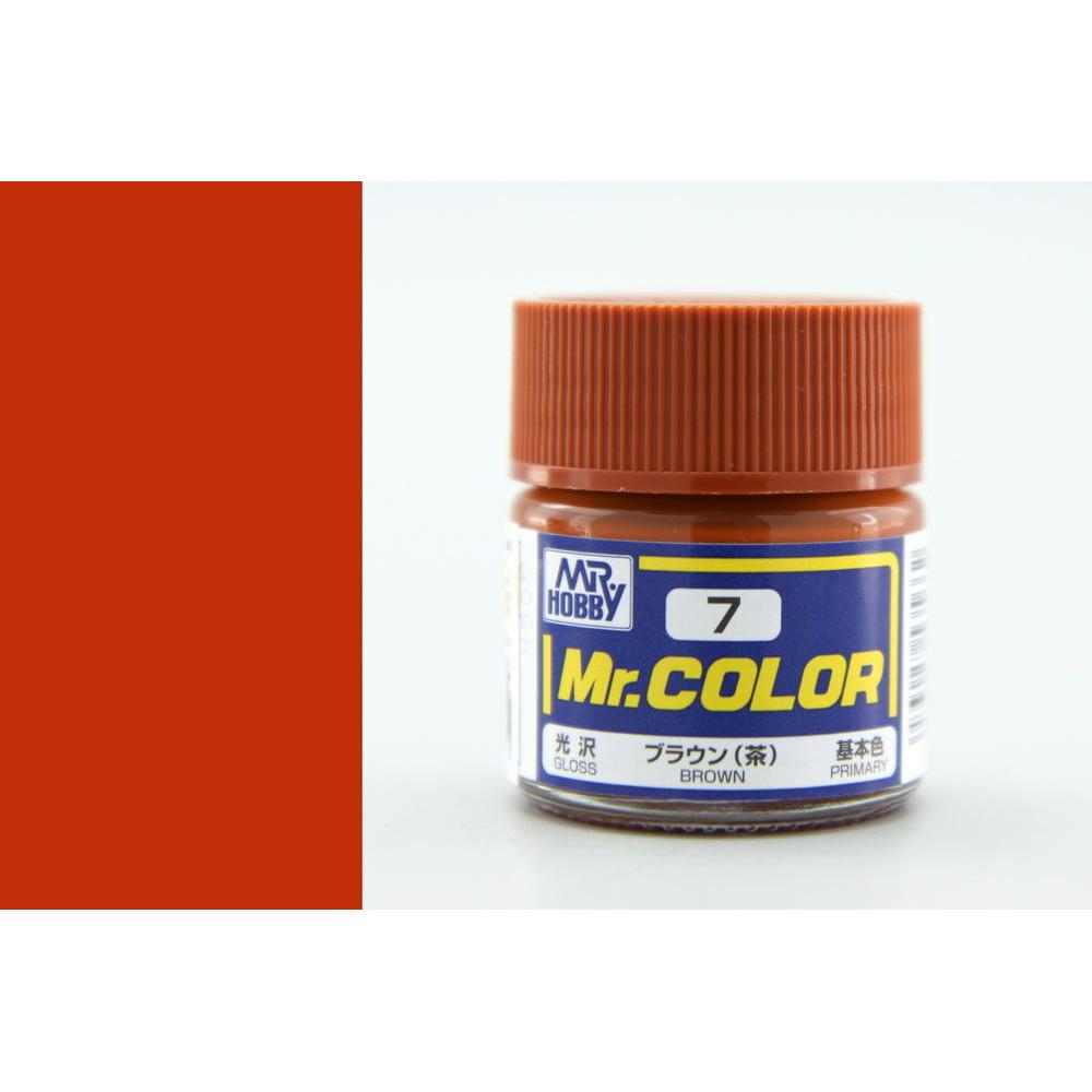 C007 Mr.Color - Brown (Gloss) 10 ml