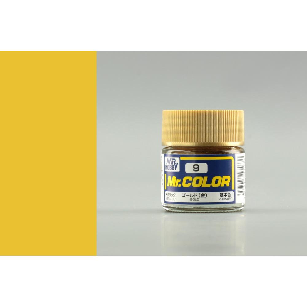 C009 Mr.Color - Золото (Глянец) 10 мл