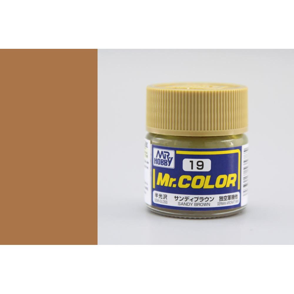 C019 Mr.Color - Sandy brown (Gloss) 10 ml