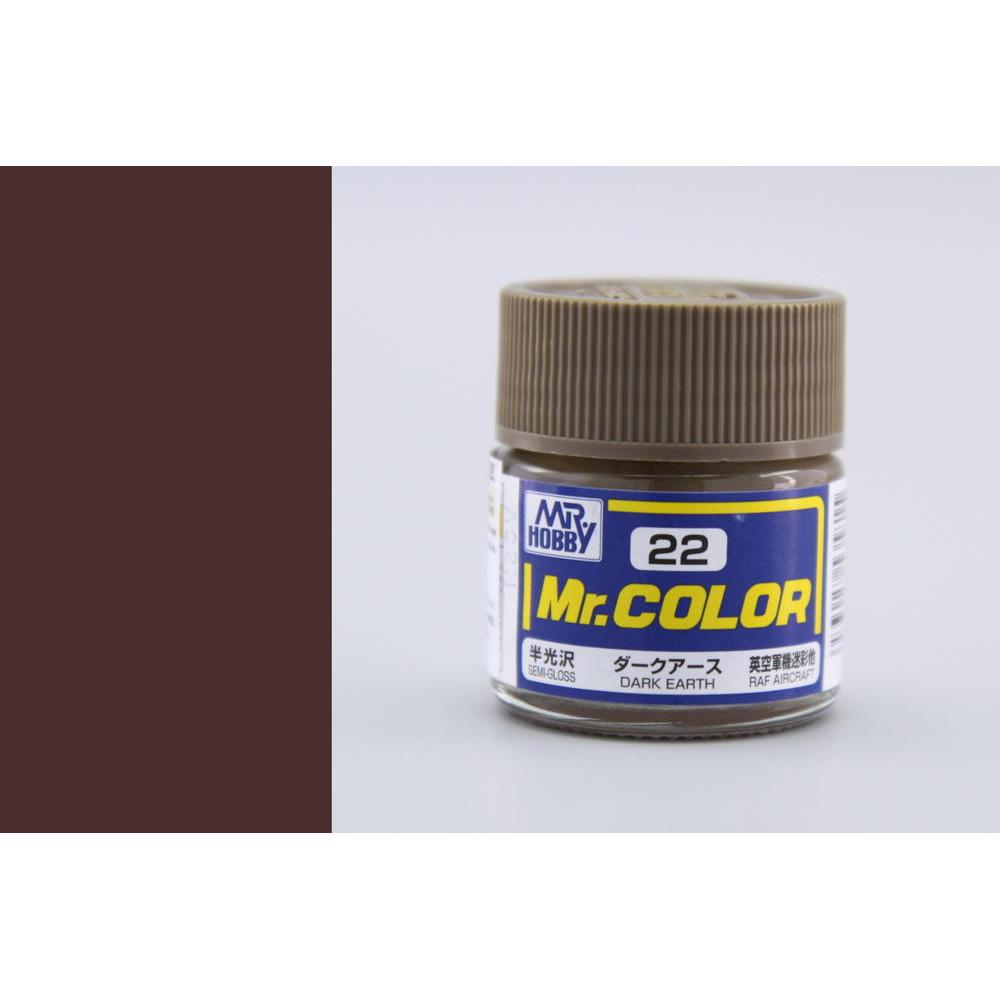 C022 Mr.Color - Dark earth (Gloss) 10 ml