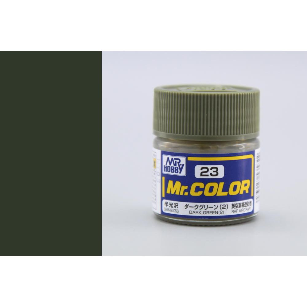 C023 Mr.Color - Dark green (2) (Gloss) 10 ml