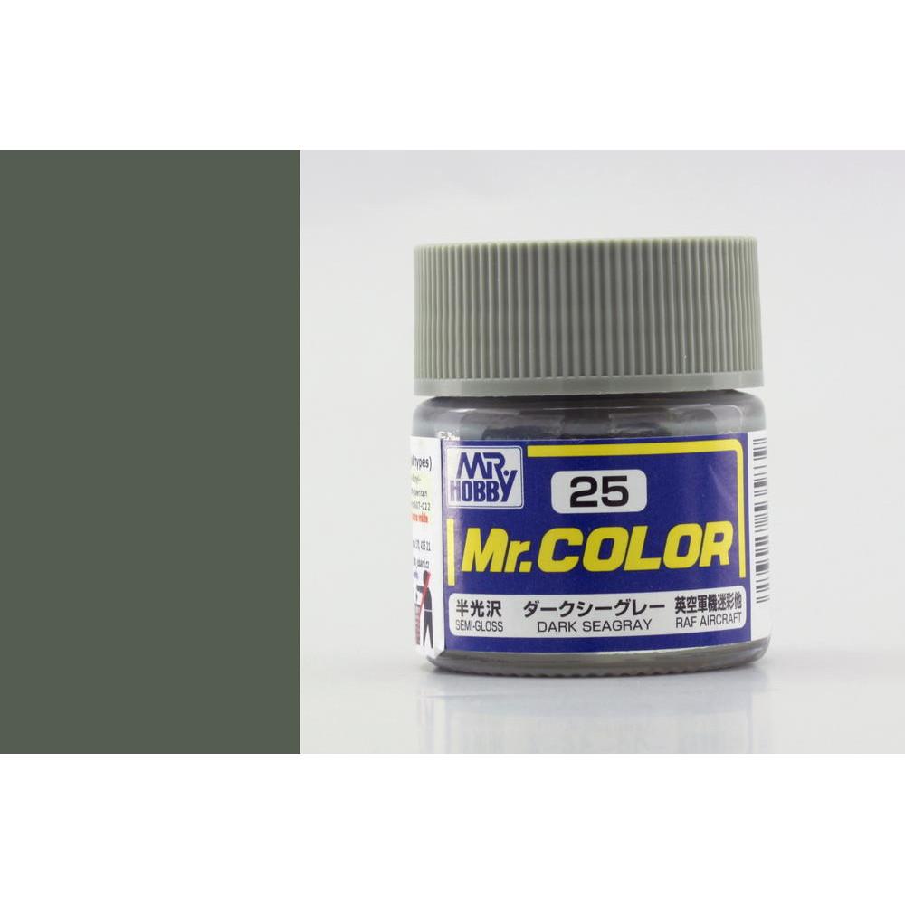 C025 Mr.Color - Dark seagray (Gloss) 10 ml