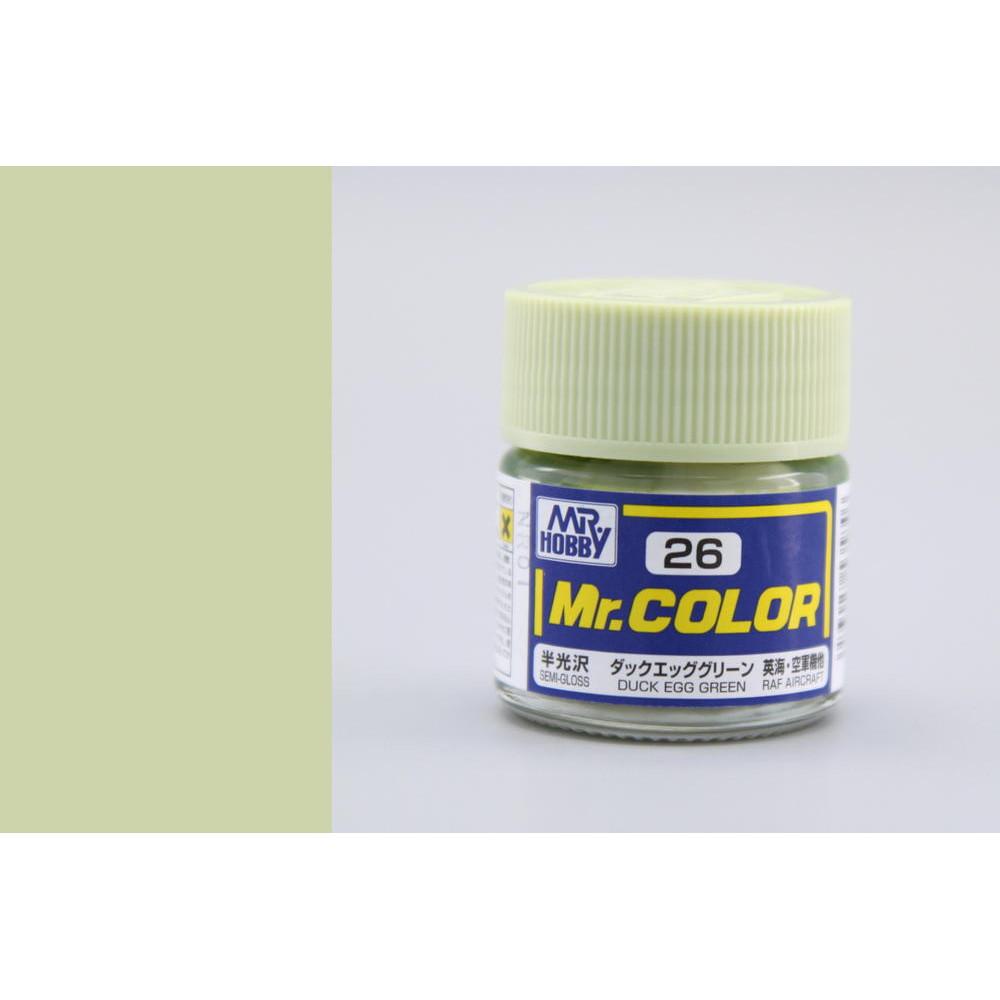 C026 Mr.Color - Duck egg green (Gloss) 10 ml