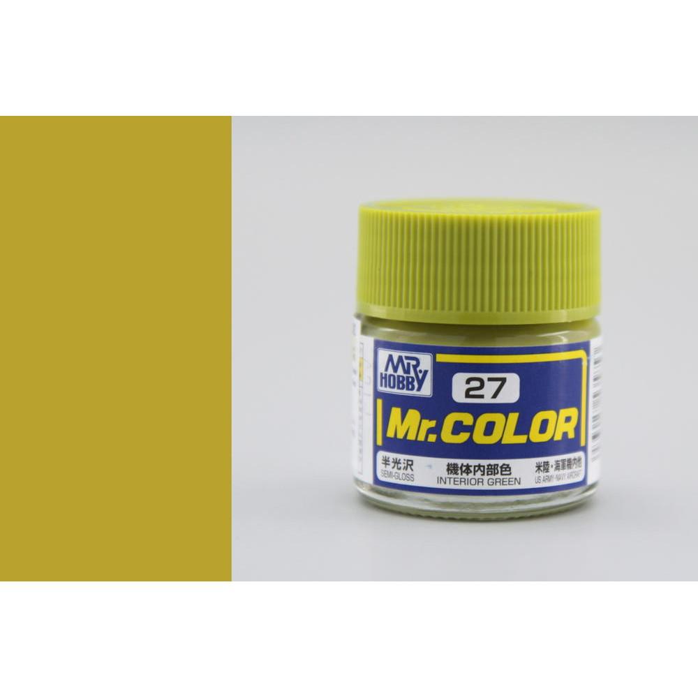 C027 Mr.Color - Interior green (Gloss) 10 ml