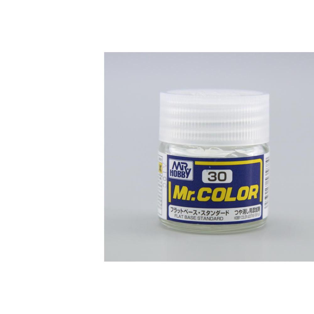 C030 Mr.Color - Плоское основание (Глянец) 10 мл