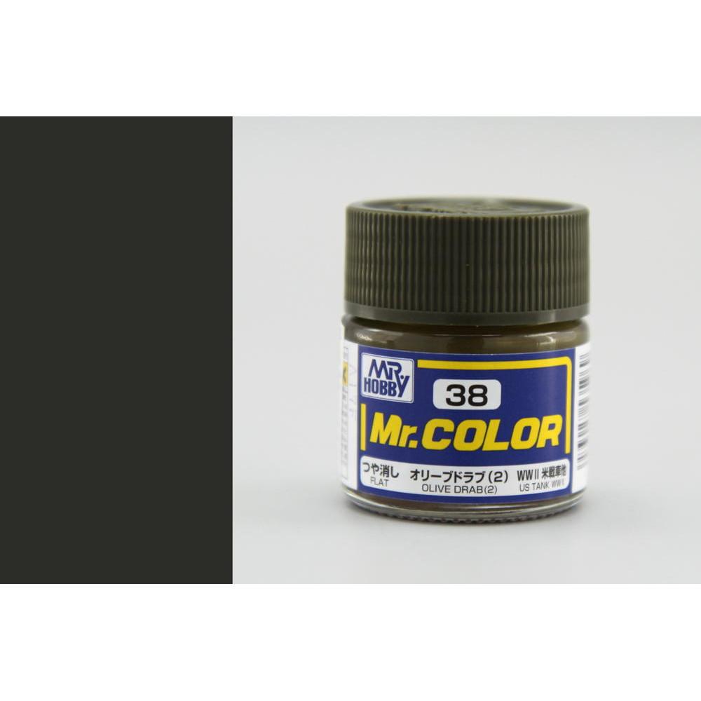 C038 Mr.Color - Оливково серый (2) (Глянец) 10 мл