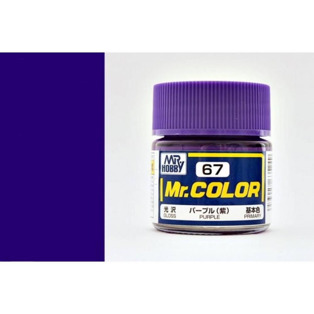 C067 Mr.Color - Фиолетовый  (Глянец) 10 мл