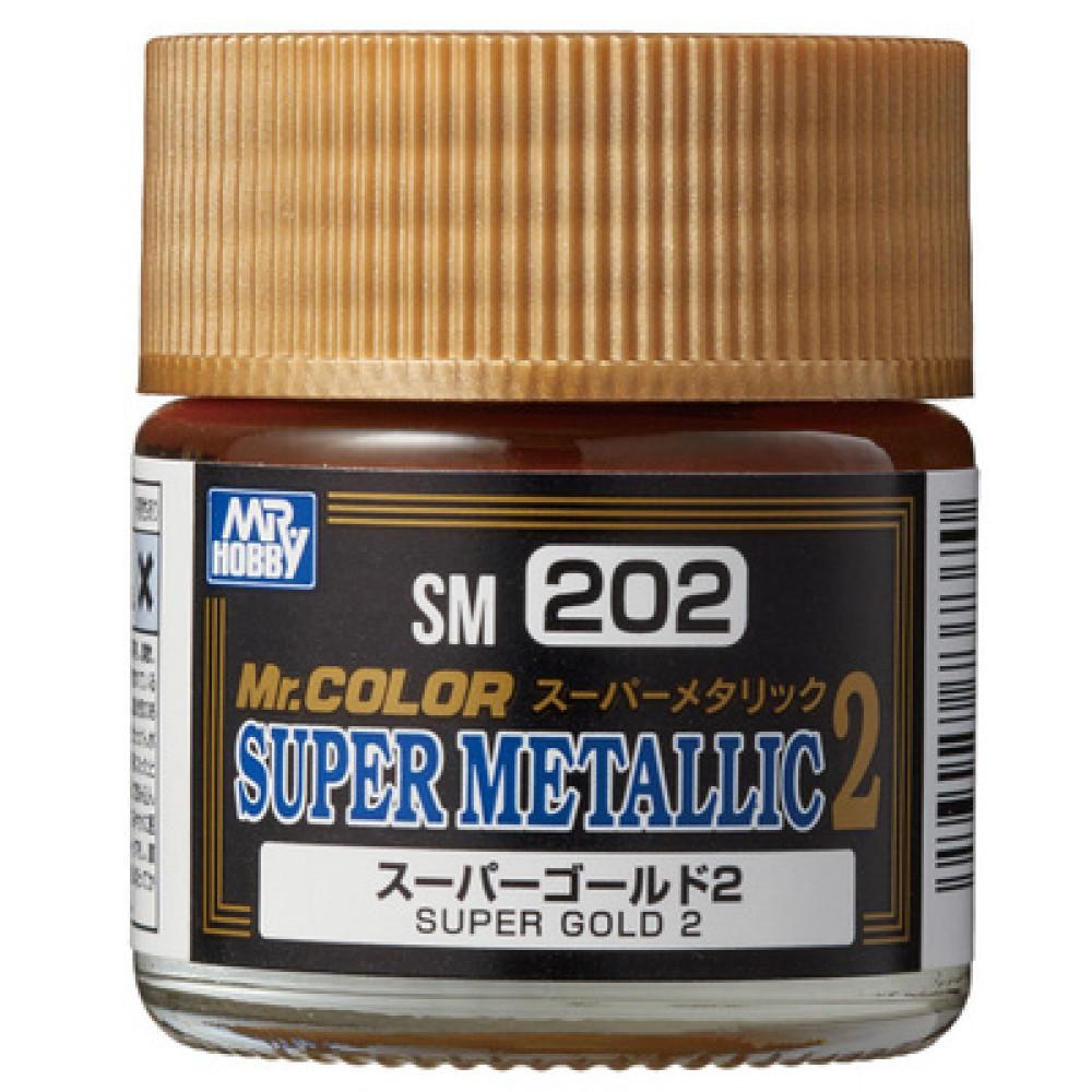 SM202 Super GOLD 2 - Super Metallic 2 (10 ml)