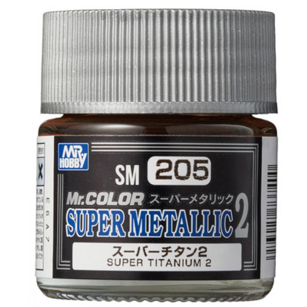 SM205 Super TITANIUM 2 - Super Metallic 2 (10 ml)