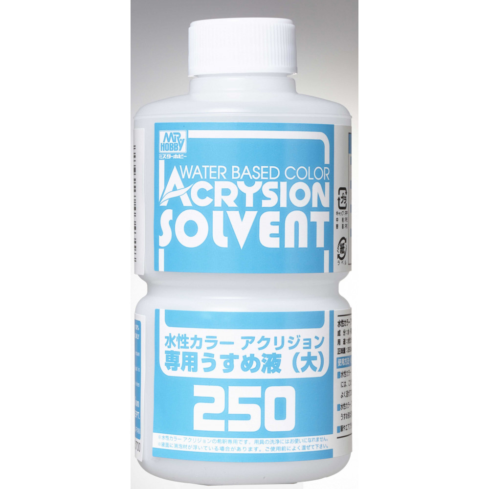 Acrysion color thinner 250 ml - GunzeSangyo T303