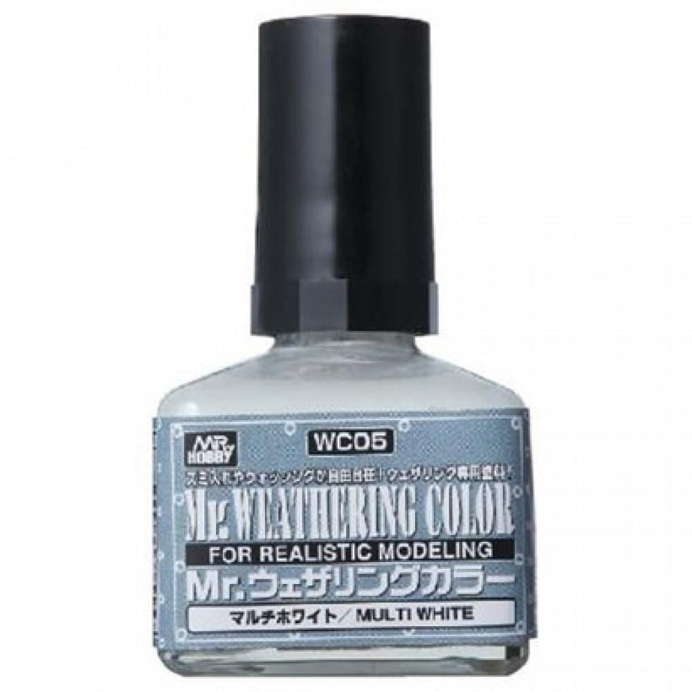 Multi White Mr. Weathering Color, 40 ml    Gunze Sangyo WC05