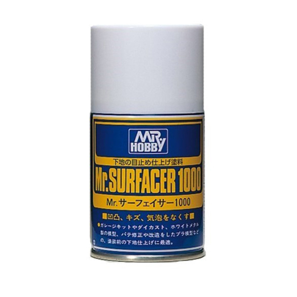 Mr. Surfacer 1000 Spray B505  Gunze Sangyo  100ml