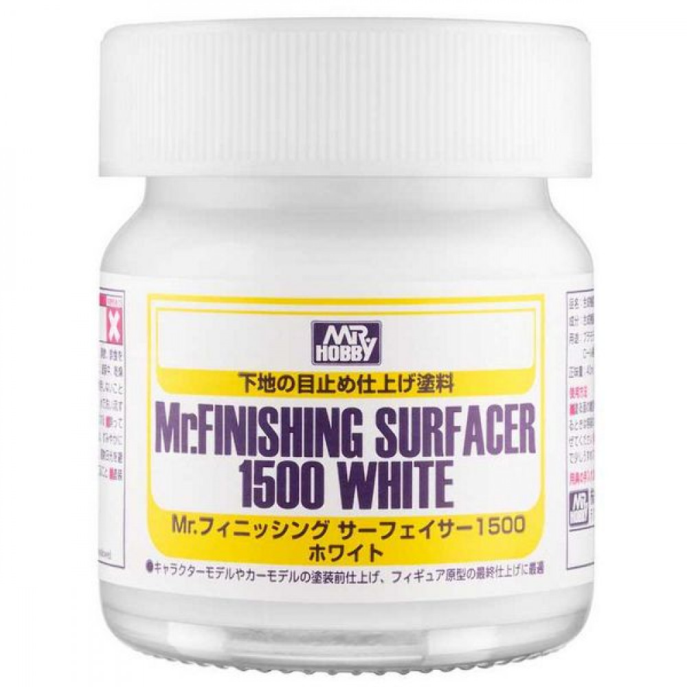 Mr. Finishing Surfacer 1500 White  Gunze Sangyo sf291