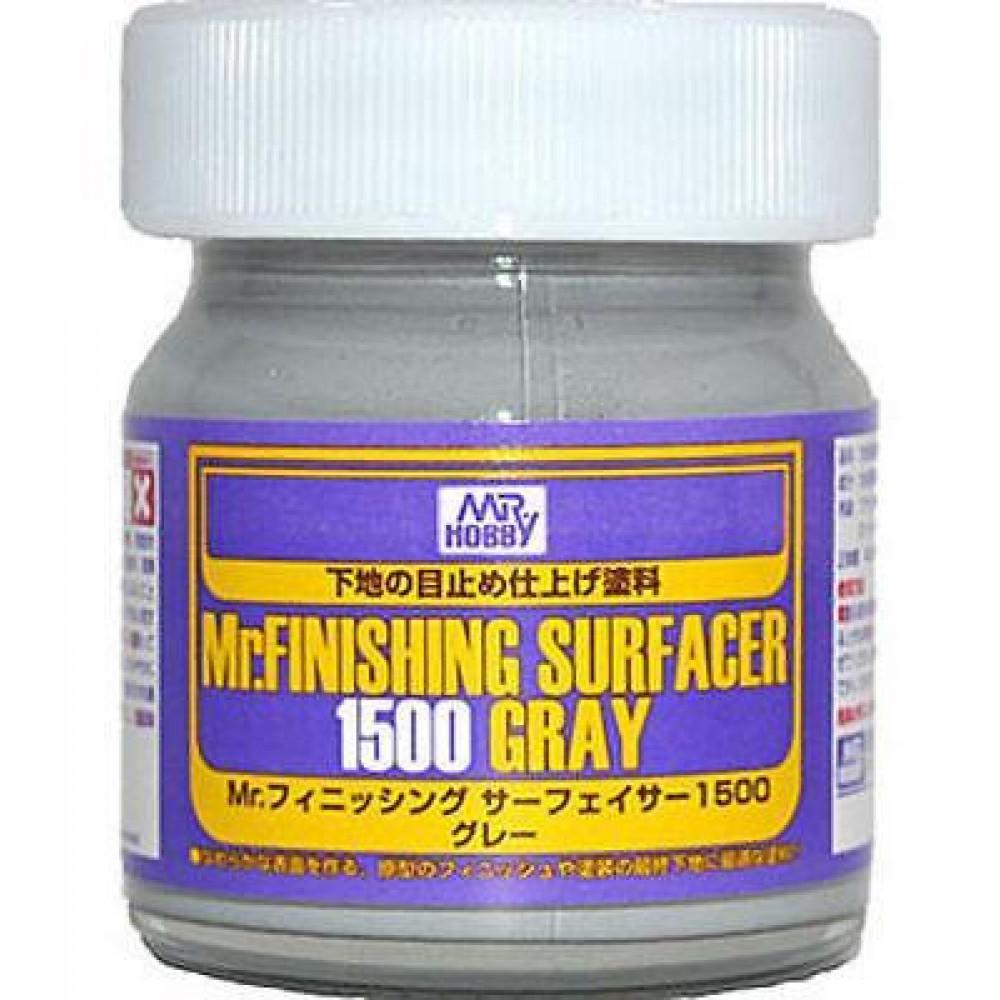 Mr. Finishing Surfacer 1500 Gray Gunze Sangyo sf289