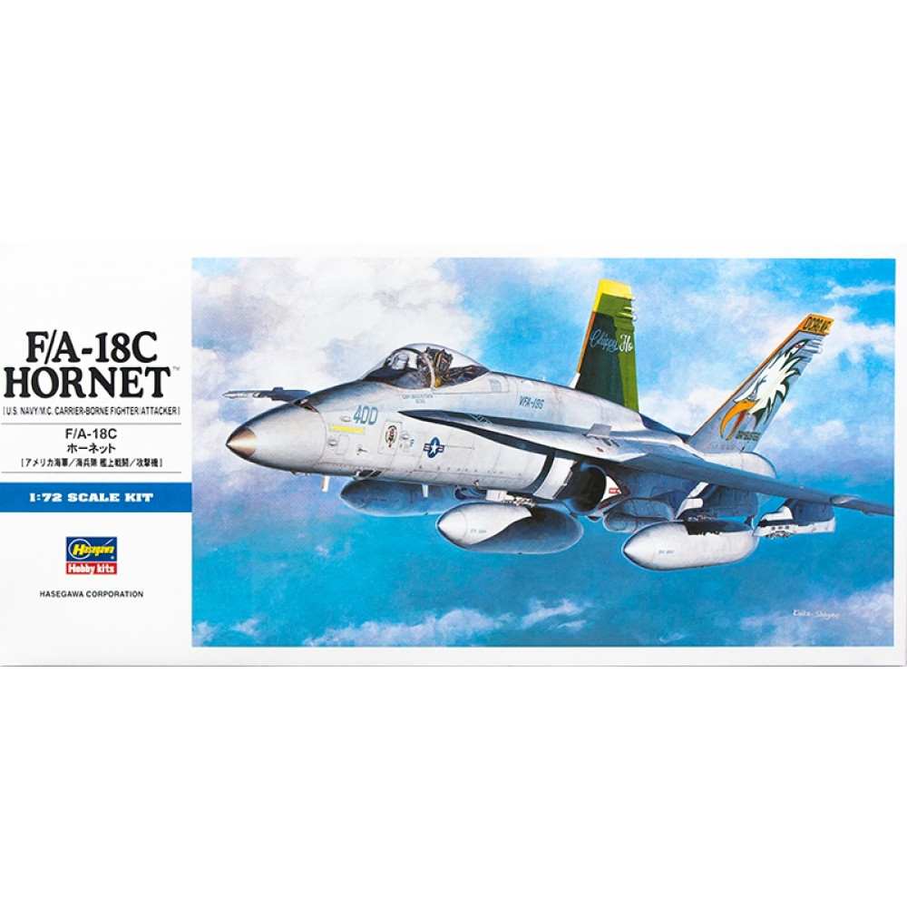 F/A-18C Hornet 1/72 Hasegawa 00438