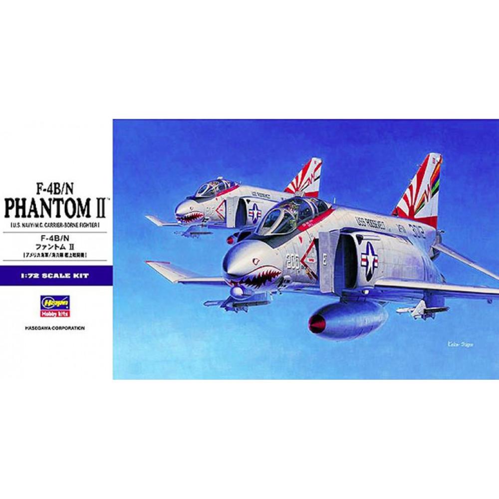 F-4B/N Phantom II   1/72 Hasegawa 01566