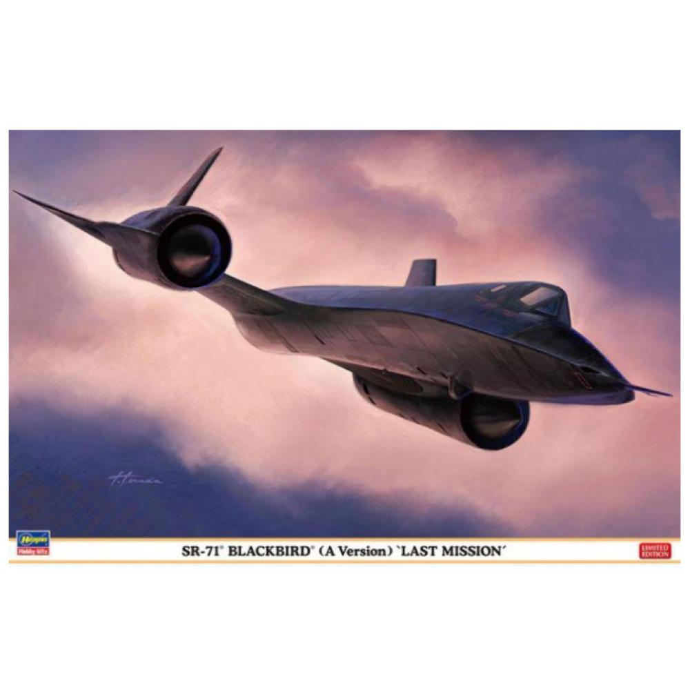 SR-71A Blackbird TypeA `Last Mission` 1/72 Hasegawa 02327