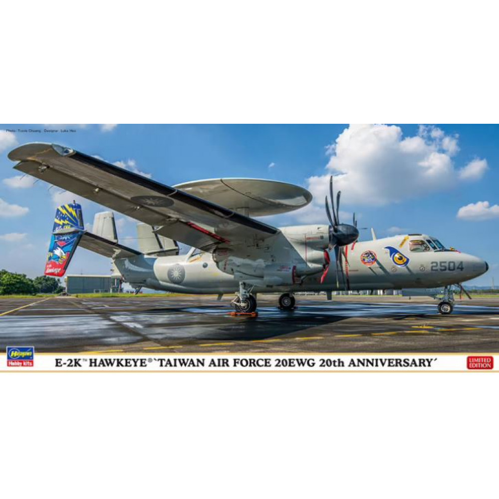 E-2K Hawkeye `Taiwan Air Force 20EWG 20th Anniversary` 1/72 Hasegawa 02337