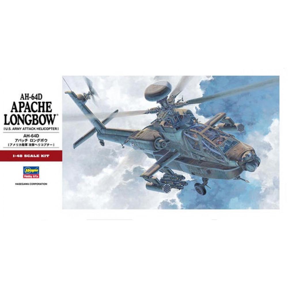 Apache AH-64 Longbow  1/48 Hasegawa 07223