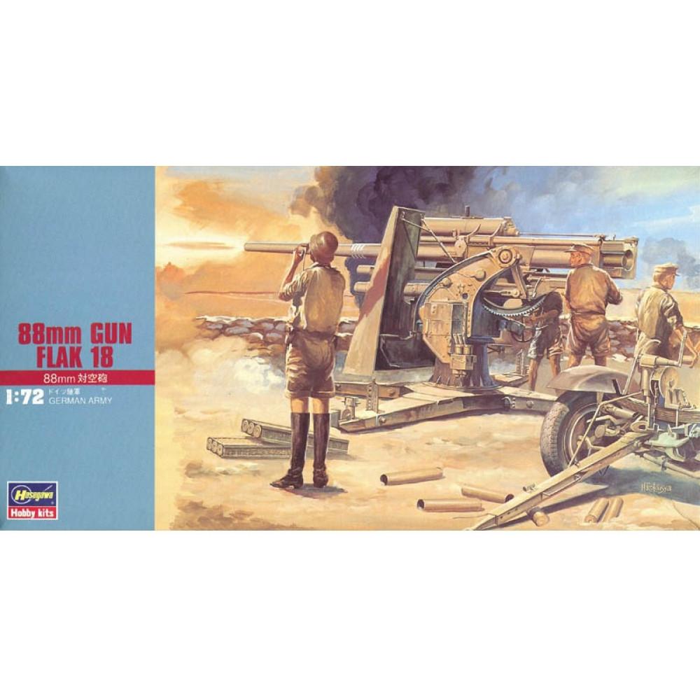 88mm Gun Flak 18 1/72 Hasegawa 31110