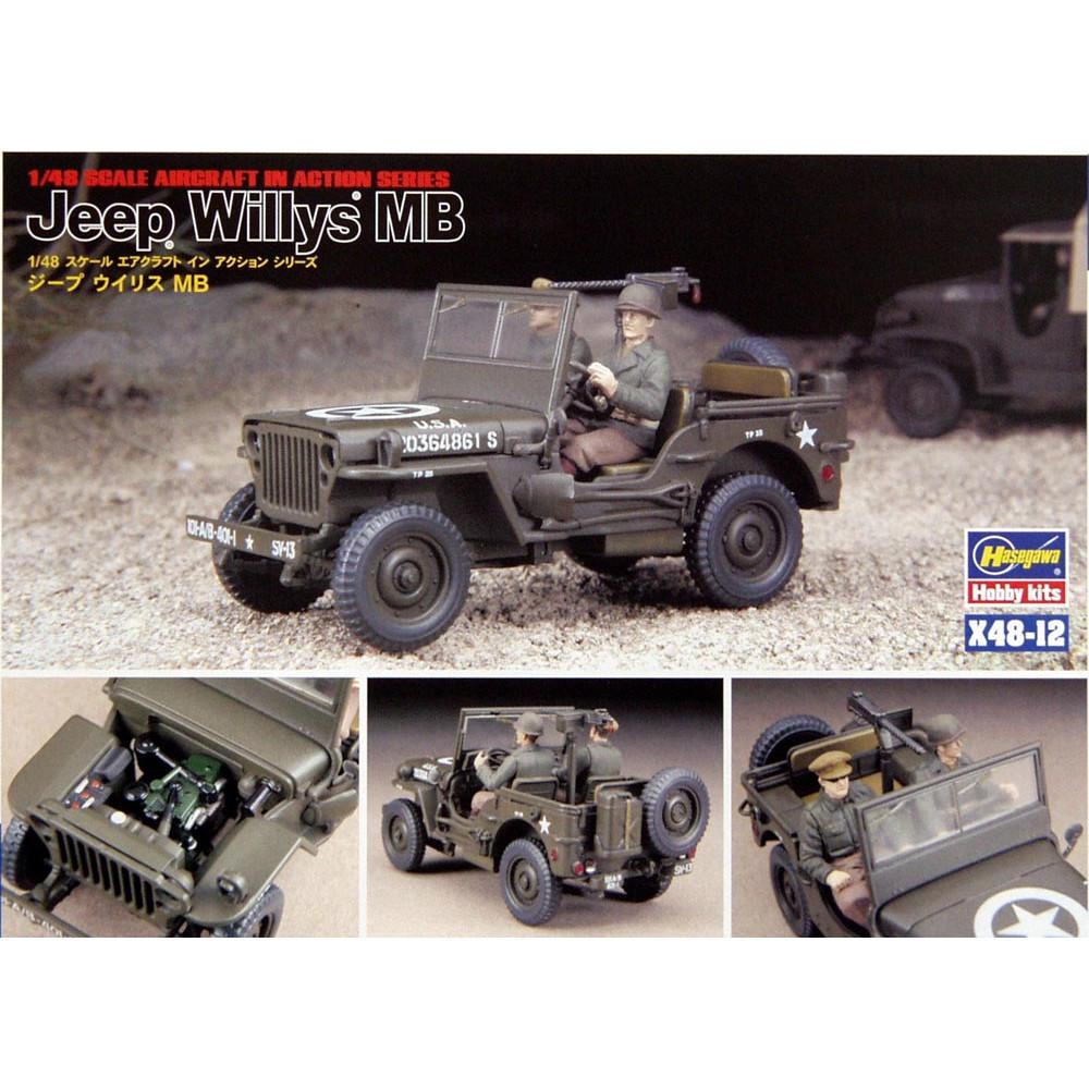 Jeep Willys MB 1/48 Hasegawa  36012