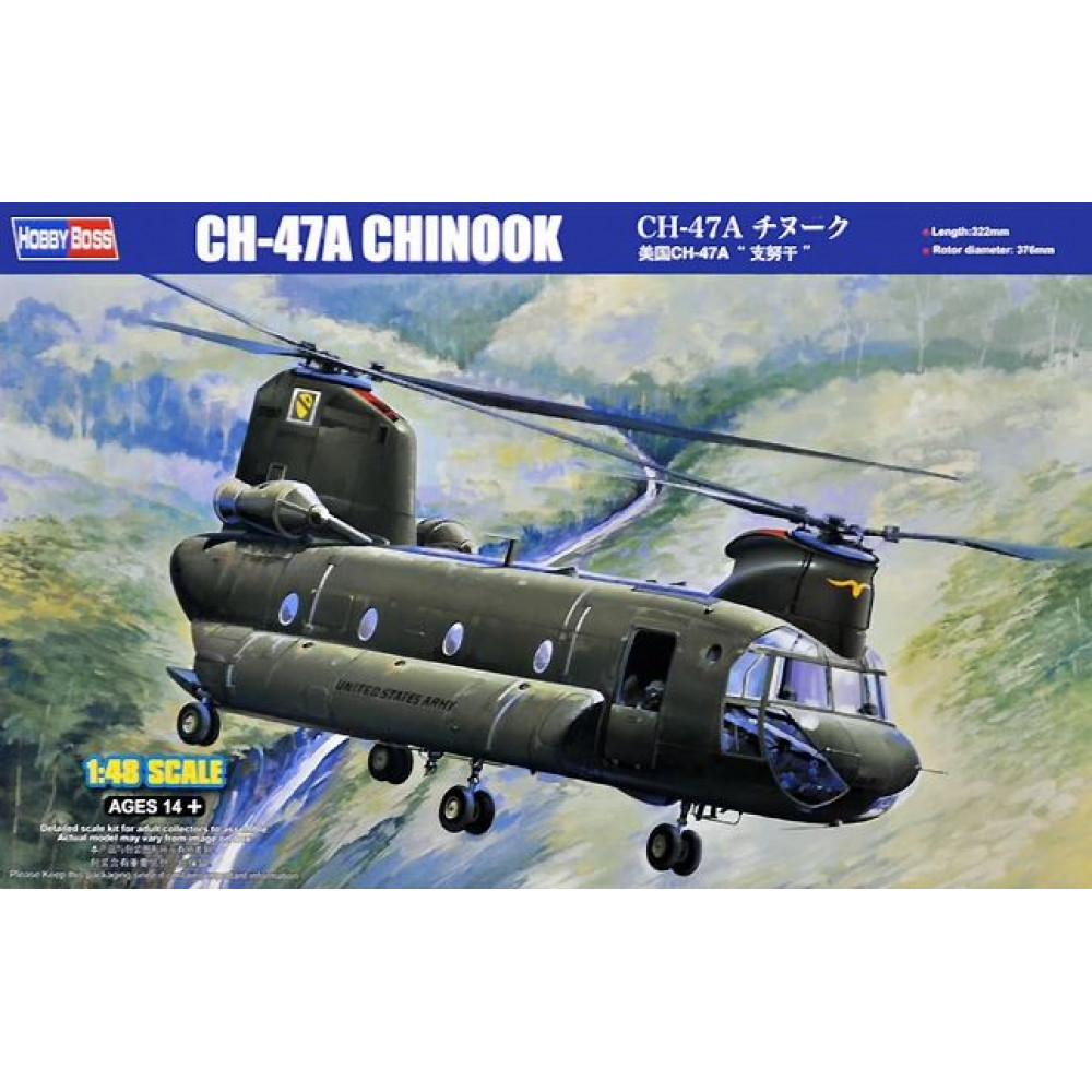 CH-47A CHINOOK вертолет 1/48 HobbyBoss 81772