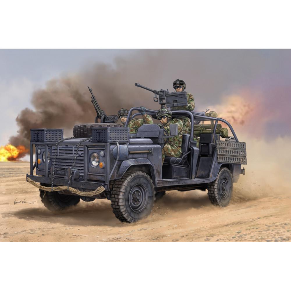 Land Rover Defender 75 бригады рейнджеров   1/35 HobbyBoss 82450