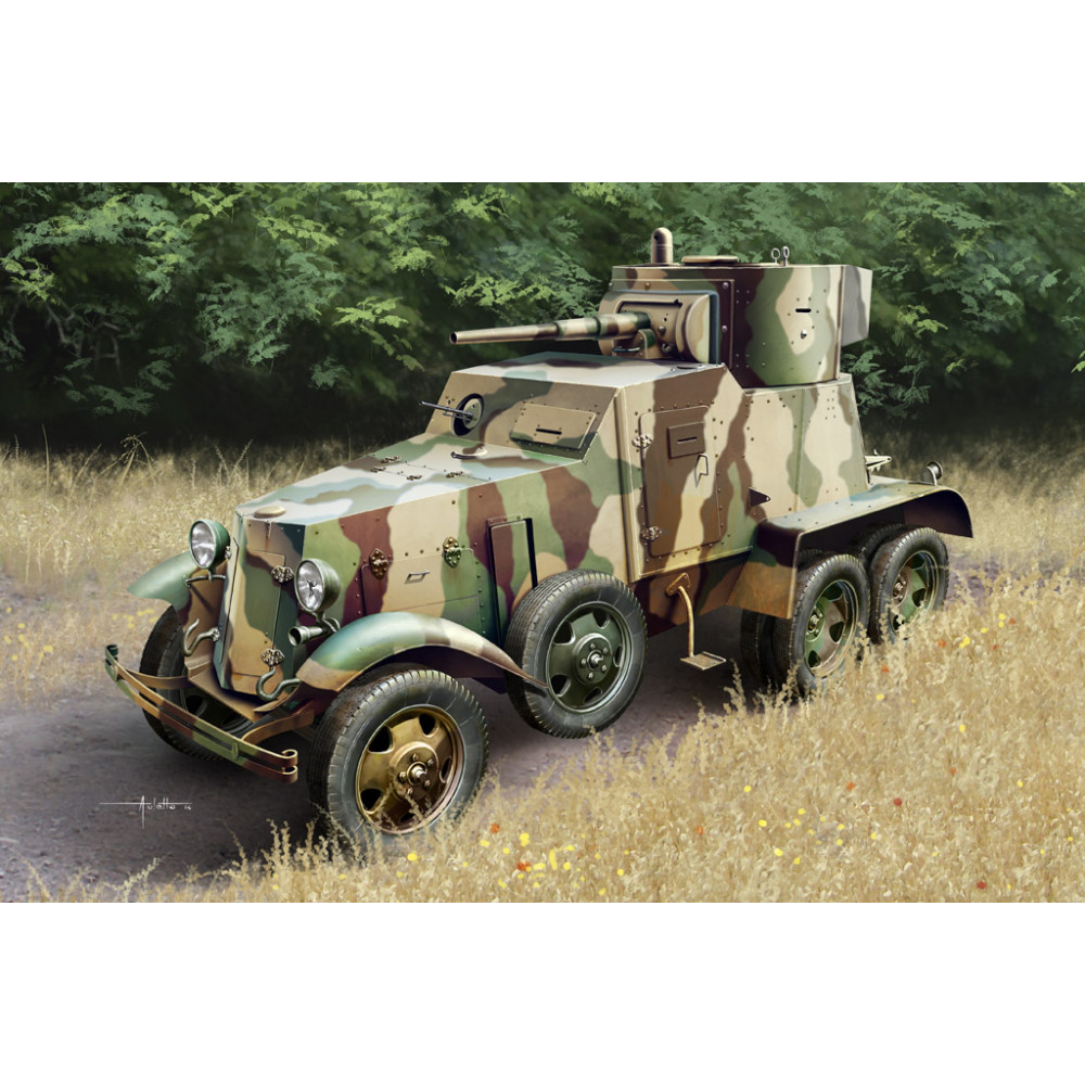 Soviet BA-6 Armor Car 1/35 HobbyBoss 83839