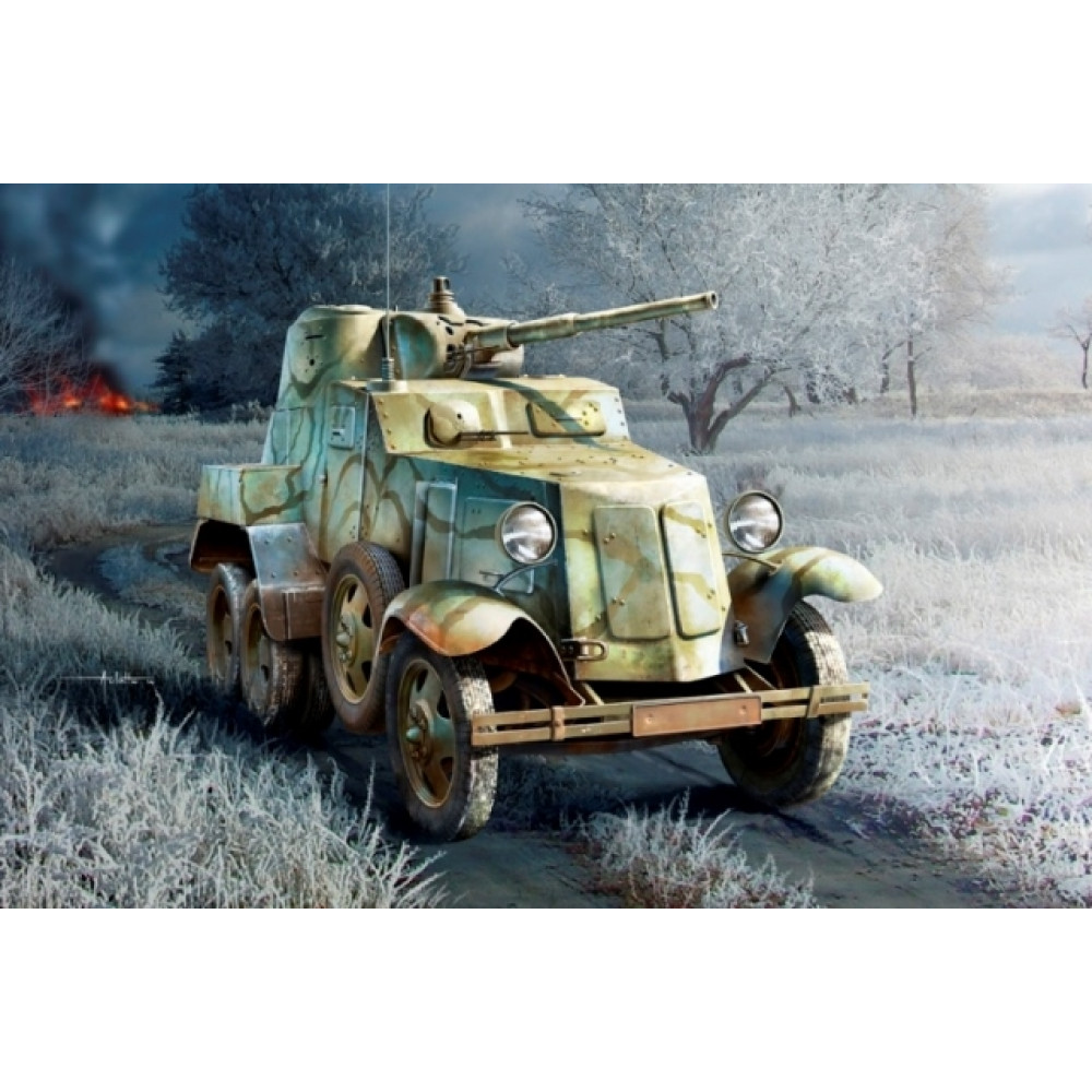 Soviet BA-10 Armor Car  1/35 HobbyBoss 83840