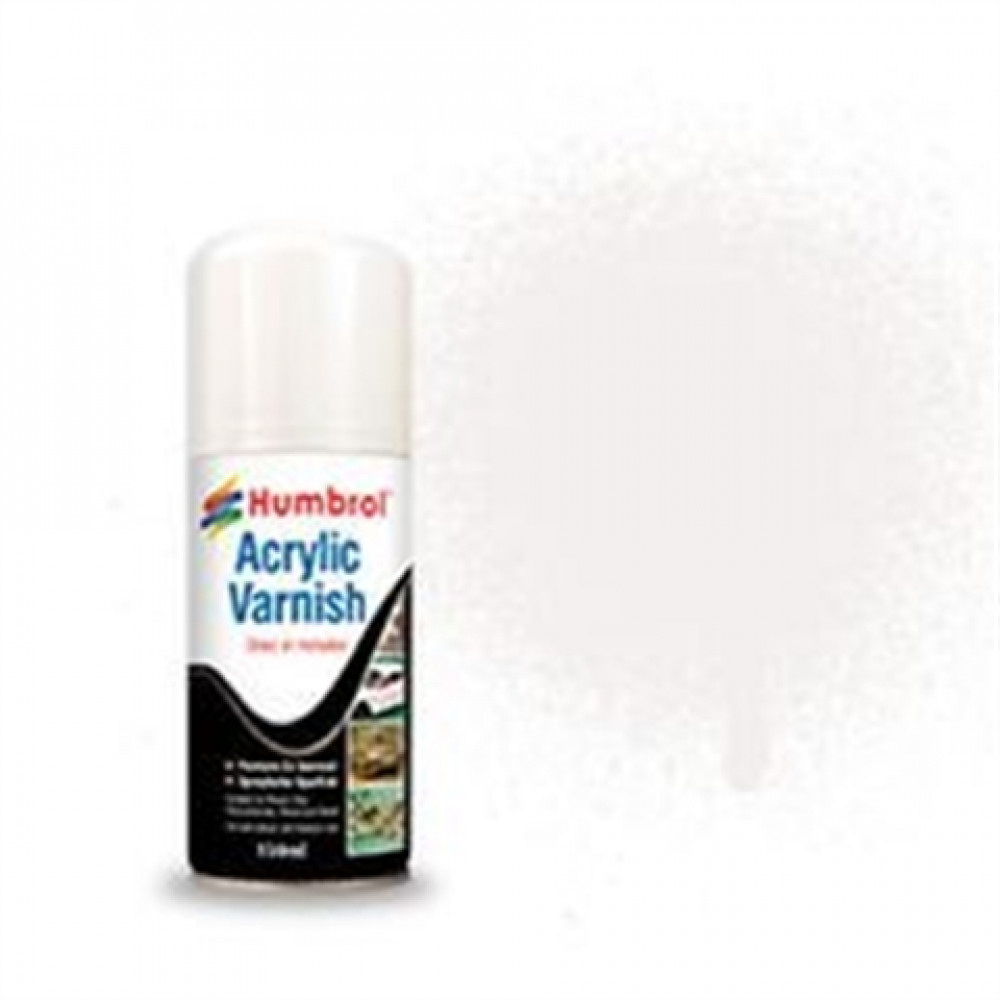 Acrylic Varnish Satin 150ml  Humbrol AD6135